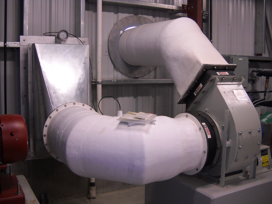 Duct Fan In An Enclosure : Fans old indusco environmental services